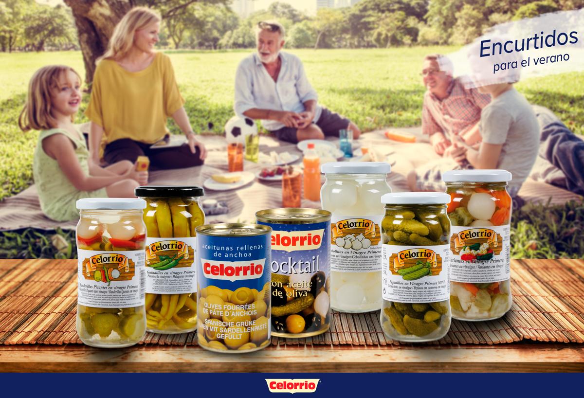 Celorrio propone un aperitivo saludable para el verano a base de encurtidos