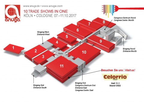 ANUGA 2017 Cologne Foire