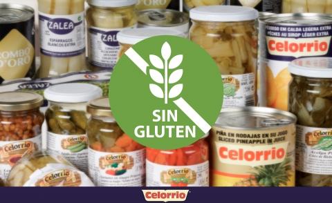 Grupo Celorrio, una gran variedad de productos sin gluten