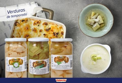 La coliflor, el cardo y el puerro son tus verduras esta temporada