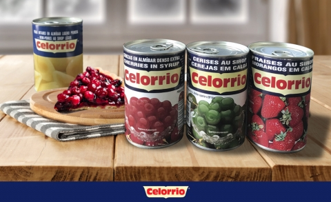 La fruta en almíbar de Grupo Celorrio