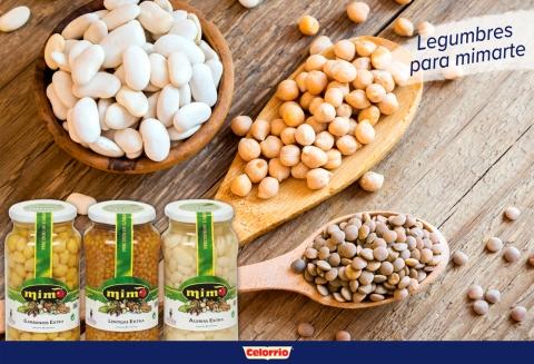 Las legumbres Mimo del Grupo Celorrio te miman en otoño