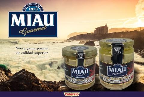 MIAU Gourmet: nueva línea de pescado fresco
