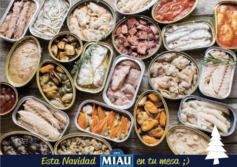 Conservas MIAU: tradición y calidad de pescados y mariscos
