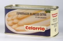 Espárrago Blanco 17/24 Lata 1 kg Extra (Perú)