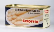 Espárrago Blanco 9/12 Lata K-B Extra (Perú)