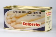 Espárrago Blanco 9/12 Lata K-B Primera (Perú)