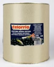 Aceitunas negras enteras 10 kg.