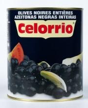 Aceitunas negras enteras 3 kg.