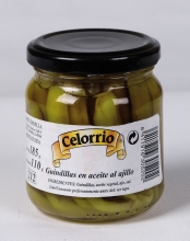Guindillas en Aceite al Ajillo Tarro 212 ml