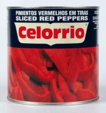 Pimiento rojo en tiras extra 3 kg. lata