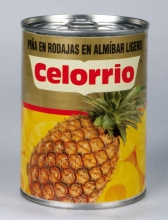 Piña Rodajas en Almíbar Lata 3/4 kg Abrefácil