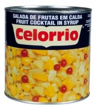 Cocktail de frutas en almibar 3 kg. lata