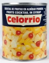 Cocktail de frutas en almíbar 1 kg. lata