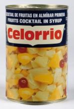 Cocktail de frutas en almíbar 1/2 kg. lata