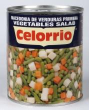 Macedonia de verduras 1 kg. lata
