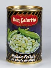 Habas fritas aceite de oliva 1/2 kg. lata