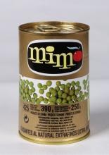 Guisantes extrafinos 1/2 kg. lata